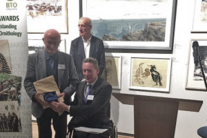 National BTO award presented to Mike Smart