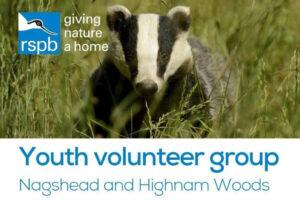 RSPB Youth volunteer group